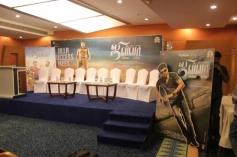 Jilla film success meet stage