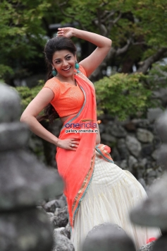 Kajal Aggarwal still from film Jilla