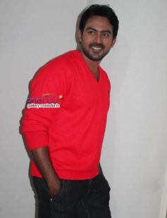 Karthik Jayaram at Just Love Movie Press Meet