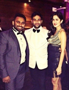 Katrina Kaif at the Ali Abbas Zafar's birthday bash
