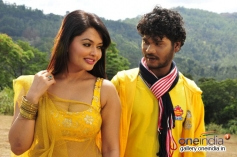 Kushi and Rajesh in Kannada Movie Love Is Poison