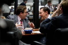 Leonardo DiCaprio and Jonah Hill in The Wolf of Wall Street
