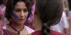 Madhuri Dixit and Juhi Chawla still from film Gulaab Gang