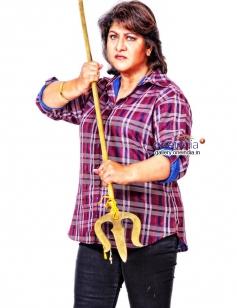 Malashri in Kannada Movie Mahakali