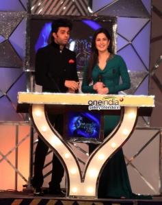 Manish Paul along with Katrina Kaif hosting the Umang 2014