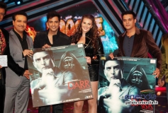 Music launch of film Darr @ The Mall on the sets of TV dance show Boogie Woogie