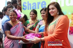Namitha's Pongal Celebration at SMK Fomra college