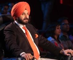 Navjot Sidhu on The Sets of Comedy Nights