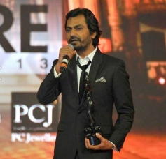 Nawazuddin Siddiqui after winning the Best Actor