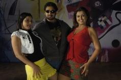 Ashwin Shekher and Sona still from film Ninaivil Nindraval