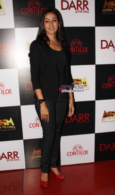 Nivedita Bhattacharya during the first look of film Darr at The Mall