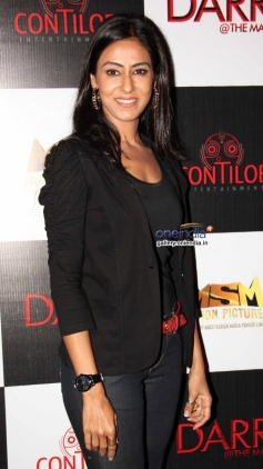 Nivedita Bhattacharya at the first look of film Darr @ The Mall