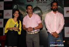 Nushrat Bharucha and Jimmy Shergill during the first look of film Darr @ The Mall