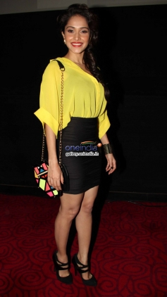 Nushrat Bharucha poses at the first look of film Darr at The Mall