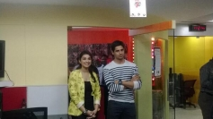 Parineeti Chopra and Sidharth Malhotra on Fever 104 FM to promote film Hasee Toh Phasee