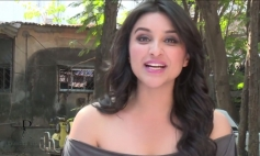 Parineeti Chopra still from Dabboo Ratnani 2014 Calendar photoshoot behind the scenes