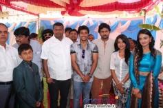 Prem Kumar, Srinagar Kitty at Geethanjali Kannada Film Launch