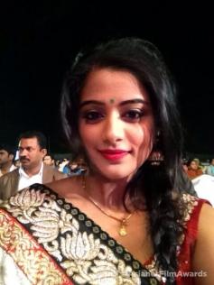 Priyamani at the Asianet Film Awards 2014