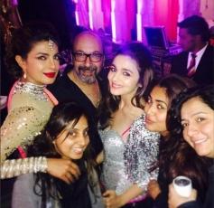 Priyanka Chopra and Alia Bhatt snapped at a wedding in Udaipur