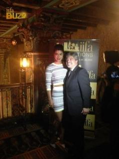 Priyanka Chopra during the IIFA Press conference 2014 at Tampa Bay