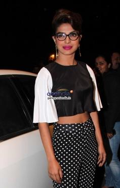 Priyanka Chopra poses at the press conference of 59th Idea Filmfare Awards 2013
