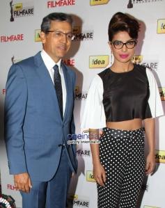 Priyanka Chopra present at the press conference of 59th Idea Filmfare Awards 2013
