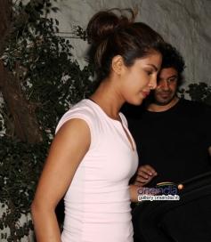 Priyanka Chopra's latenight party at Olive resturant, Bandra