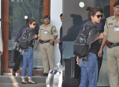Priyanka Chopra snapped at the Mumbai Airport