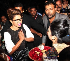 Priyanka Chopra welcomed during the press conference of 59th Idea Filmfare Awards 2013