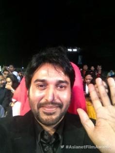 Rahman at the Asianet Film Awards 2014