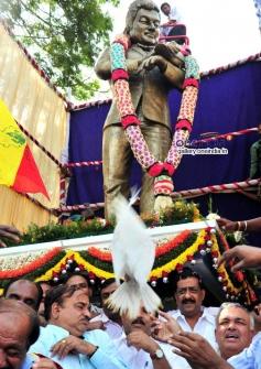 Raj statue inaugurated at South End circle