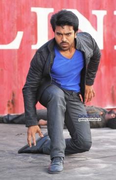 Ram Charan Teja still from Yevadu Movie