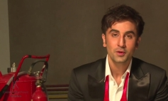 Ranbir Kapoor still from Dabboo Ratnani 2014 Calendar photoshoot behind the scenes