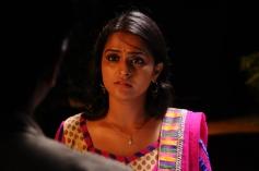 Remya Nambeeshan still from film Damaal Dumeel.