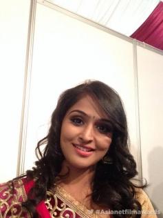 Remya Nambeeshan at the Asianet Film Awards 2014