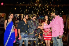 Allu Arjun with Rey Movie team at A to Z Look Launch