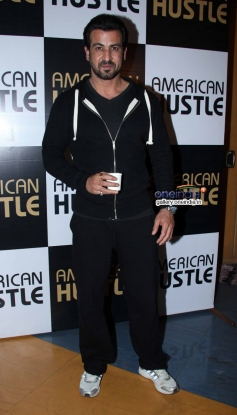 Ronit Roy at the special screening of American Hustle