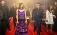Salman Khan and Daisy Shah arrives for Jai Ho film premiere at Dubai
