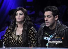 Salman Khan and Daisy Shah on Nach Baliye 6 for Jai Ho promotion