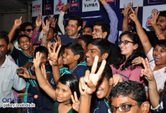 Salman Khan with NGO Kids at the special screening of film Jai Ho