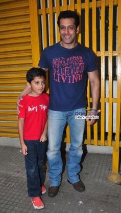 Salman Khan at the special screening of his film Jai Ho for NGO Kids