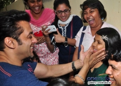 Salman Khan during the special screening of his film Jai Ho for NGO Kids