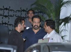 Salman Khan returns from Jodhpur to Mumbai