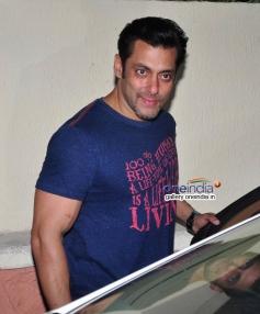 Salman Khan at the film Jai Ho special screening for NGO Kids
