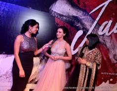 Sana Khan during the Jai Ho film premiere at Dubai