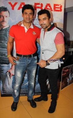 Sangram and Ajaz during the first look launch of Ya Rab