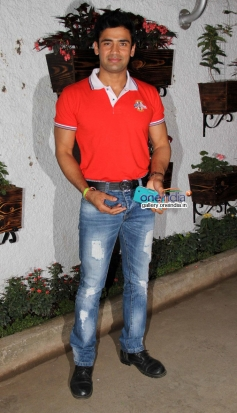 Sangram Singh during the first look launch of Ya Rab