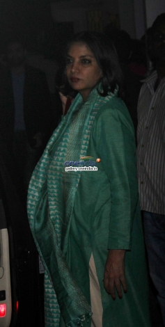 Shabana Azmi at One By Two special screening