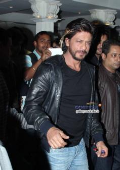 Shahrukh Khan snapped at a bar launch