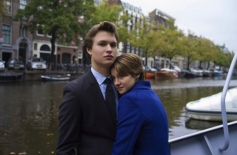 Shailene Woodley and Ansel Elgort in The Fault in Our Stars
